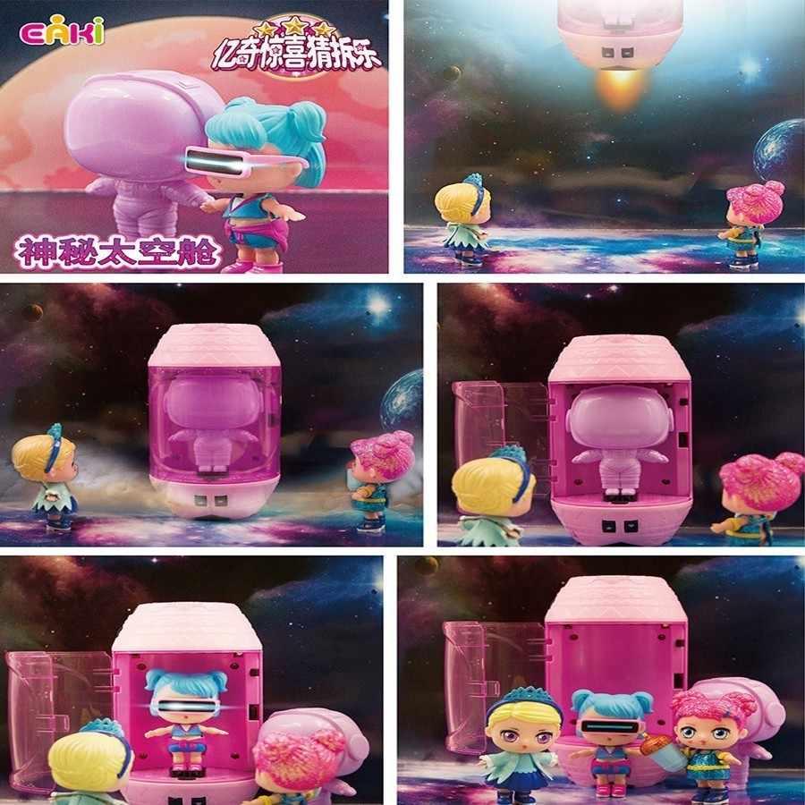 2019 Original Diy juguetes Lol marionetas chico juguetes princesa Pop Lol juguetes de bola de bebé para niñas toxina niños cápsula espacio misterioso