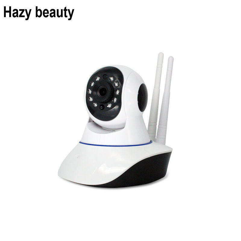 Hazy beauty Pan Tilt Wireless IP Camera Wifi 720P 960P HD CCTV Camera Home P2P Security Surveillance 64GB SD Card Supports howell wireless security hd 960p wifi ip camera p2p pan tilt motion detection video baby monitor 2 way audio and ir night vision