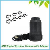 Microscope Telescope Portable Auto Focus 8.0 MP CMOS Electronic Eyepiece USB Digital Industrial Eyepiece Camera with Adapter