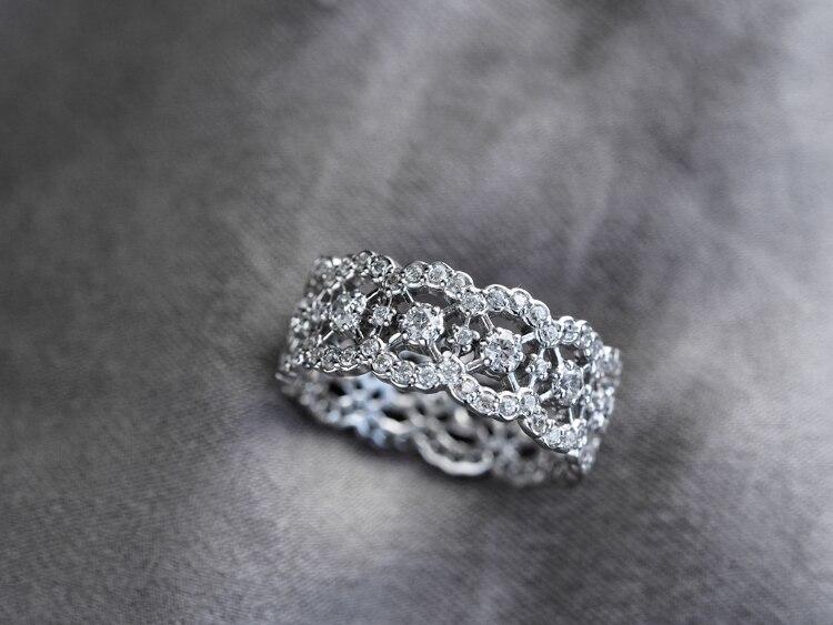 S925 Стерлинговое серебро ювелирные изделия соты полые элегантные кубический циркон кольца для женщин
