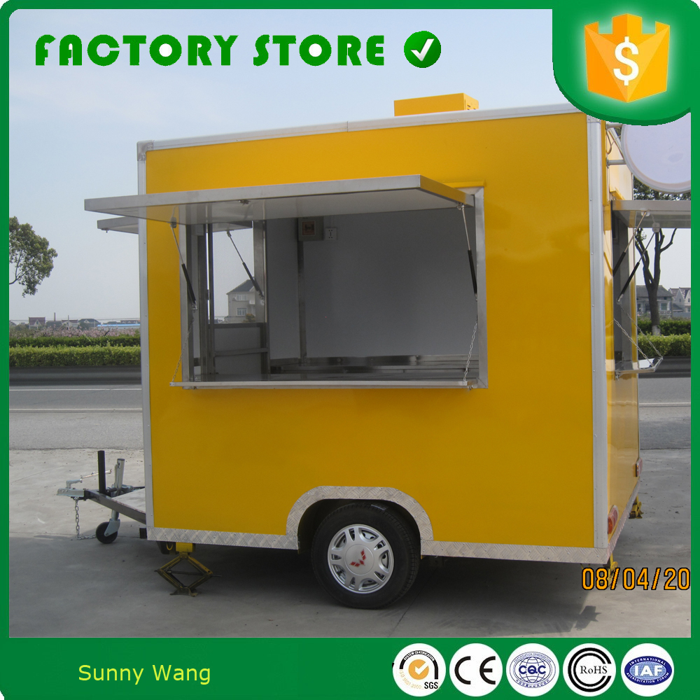 Food Sale: Food Trolley Cart Price Food Trucks Mobile Food Cart For