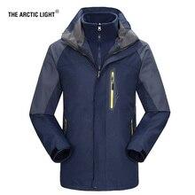 THE ARCTIC LIGHT New Men ski Jackets Outdoor Hiking Trekking Warm Snowboard Coat Male Waterproof Snow Jacket Sportswear Winter цена в Москве и Питере