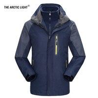 THE ARCTIC LIGHT New Men ski Jackets Outdoor Hiking Trekking Warm Snowboard Coat Male Waterproof Snow Jacket Sportswear Winter