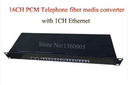 16 Channel PCM Voice Telephone fiber optical media converter with Ethernet 1U Rack mount -FC, Single mode 20KM Multi-mode 300M16 Channel PCM Voice Telephone fiber optical media converter with Ethernet 1U Rack mount -FC, Single mode 20KM Multi-mode 300M