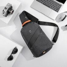 Tangcool Mode Mannen Messenger Bag Mannen USB Opladen Ontwerp Man Borst Bag Pack Anti Diefstal Schouder Crossbody zakken voor Tiener