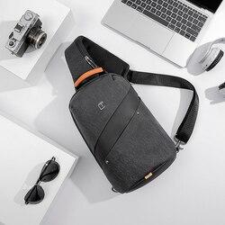 Tangcool moda masculina saco do mensageiro homem design de carregamento usb pacote saco peito anti roubo ombro crossbody sacos para adolescente