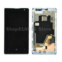 Pour Nokia Lumia 1020 Écran lcd + Écran Tactile Digitizer Avec Cadre Assemblée Noir Livraison Gratuite