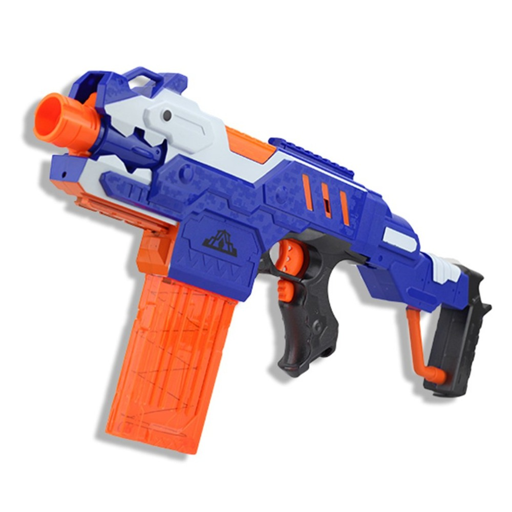 Kids Electric Airsoft Soft Bullet Gun Serial Shoot Target Toy Gun Plastic Detachable Rifle Toys For Nerf Gun Children Boys Gifts ...