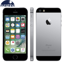 "Débloqué Original Apple iPhone SE 4G LTE Mobile Téléphone iOS A9 Dual Core 2G RAM 16/64 GO ROM 4.0 ""12.0MP d'empreintes digitales Smartphone"