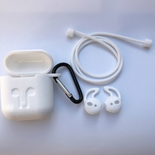 Airpod Cover Charger Headphones Silicone Case Shockproof Earbuds for Apple  Earphone Accessories