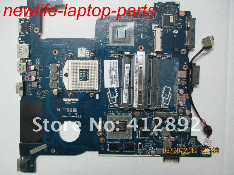 original NEW 5950 5950G motherboard MBRA502001 P5LM0 LA-6931P DDR3 maiboard 100% test fast ship original for sony vpcea series motherboard mbx 224 a1794327a m961 mp mb ddr3 maiboard 100% test fast ship