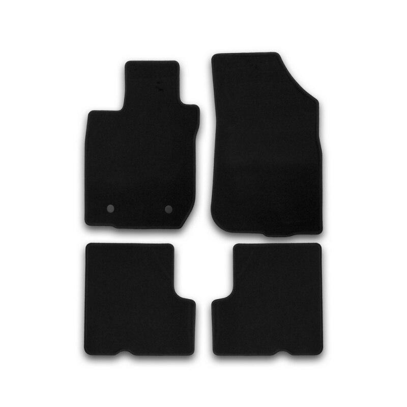 Mats in salon Klever Econom For RENAULT Sandero 2010-> хб... 4 PCs (textile) цена и фото