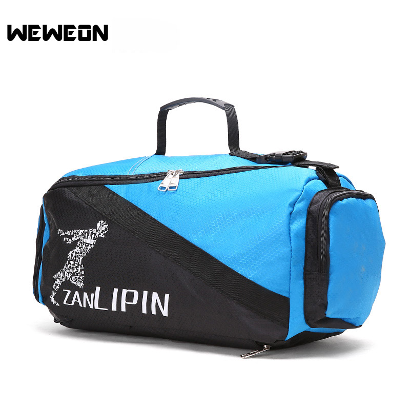 Multifunctional Men s Gym Bag Fitness Sports Backpacks Travel Training  Rucksack Convertible Sports Backpack Men Shoulder Bags-in Gym Bags from  Sports ... 3a01f0b5d6