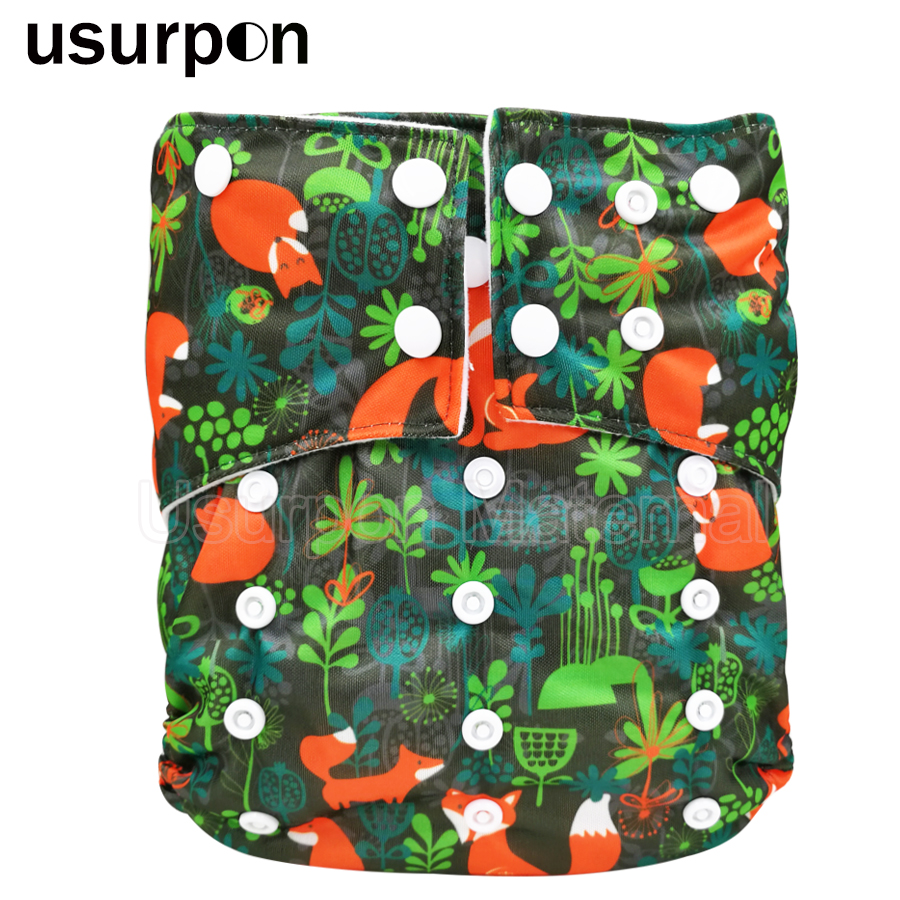 [usurpon] 1 Pc Reusable Baby Nappies Big Size Children Diapers For Old Baby Washable Cloth Diapers Children Diaper Suit 3-7years