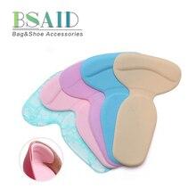 BSAID гелевые подушечки для ухода за ногами на высоком каблуке, 1 пара, мягкие силиконовые разноцветные стельки, защитные противоскользящие подушечки для обуви, вставки для танцев