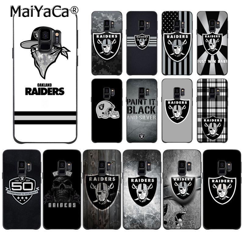 MaiYaCa Oakland Raiders High Quality Phone Case For Samsung S9 S9 Plus S5 S6 S6edge S6plus S7 S7edge S8 S8plus