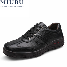 MIUBU Men Shoes New Genuine Leather Fashion Casual shoes Plus Size 45,46,47,48 Dropshipping
