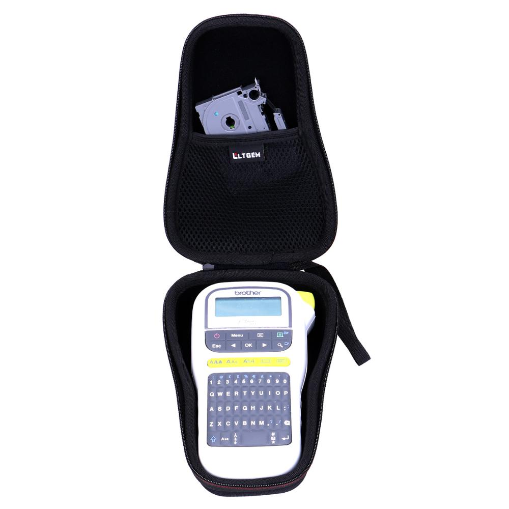 LTGEM Waterproof Hard Case For Brother P-Touch PTH110 & PT-H100 Easy Portable Label Maker