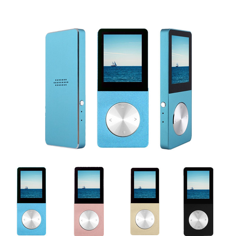 FGHGF Original HIFI MP3 Player 16GB Metal High Sound Quality Entry-level Lossless Music Player Support TF Card FM