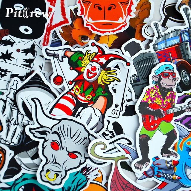 100 car styling jdm decal stickers for graffiti car covers skateboard snowboard motorcycle bike laptop sticker