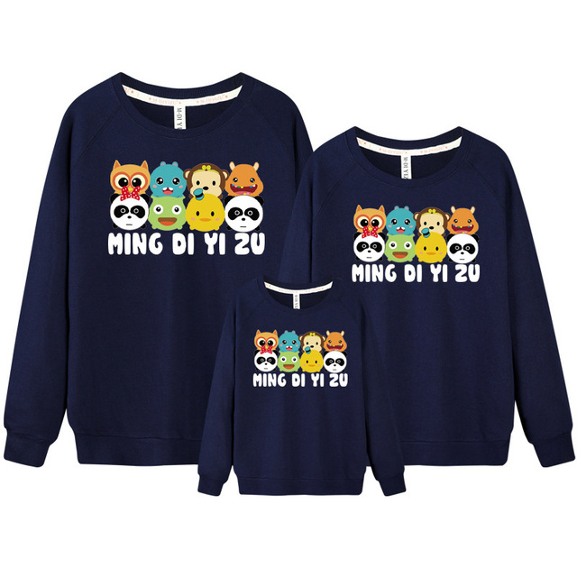 482abf20 2019 pokemon children hoodies sweatshirts family look matching mother  daughter clothes father son outfits christmas clothing