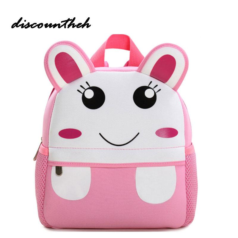 Cartoon Kids School Bags For Children Girl School Backpacks For Kindergarten Baby mochila Infant School Bags Boy Backpacks