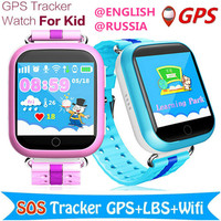 The Child GPS Satellite Positioning Tracker 1.54 Inch Russian English Oversea Version Touch Depth Waterproof Drop HD GPS Tracker