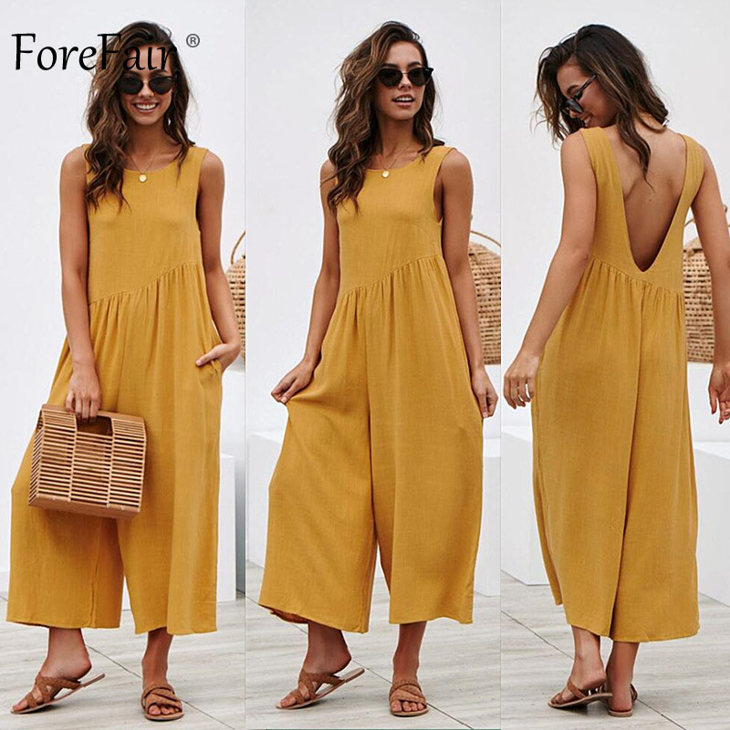 Jumpsuit Women Boot Cut Wide Leg Elegant Off Shoulder (11)