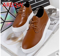 2016 spring Korean white shoes shoes tide students with small shoesb1