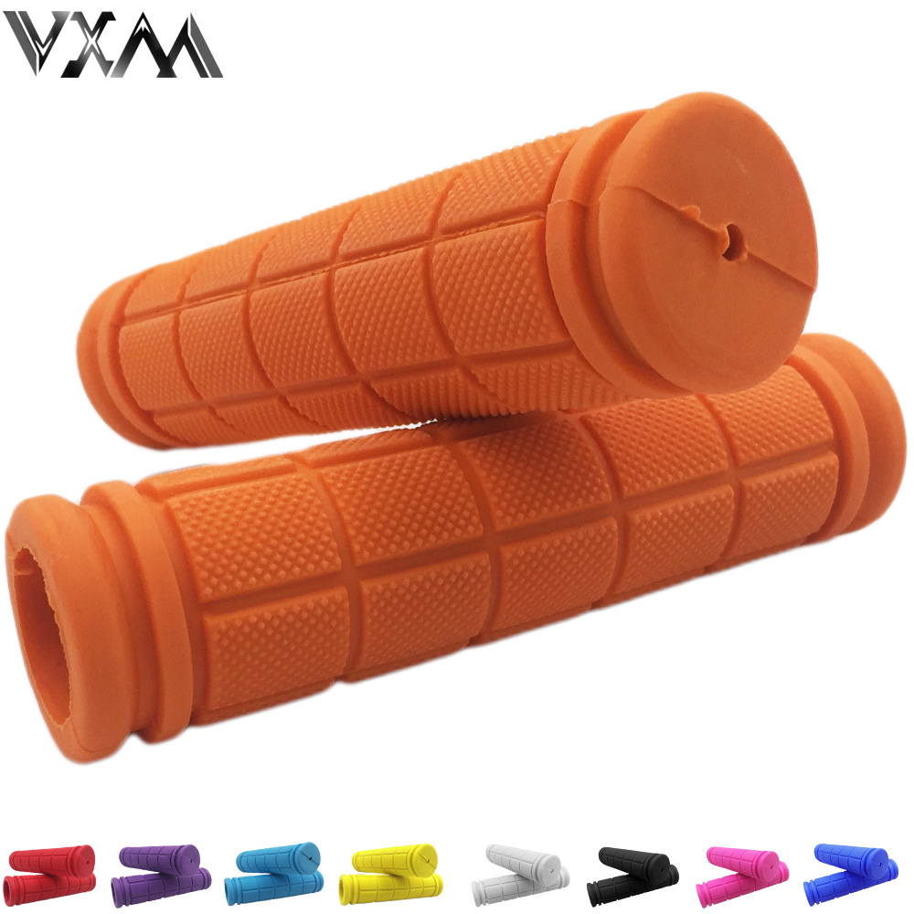 VXM Bicycle Handlebar Grips Double Lock Soft Rubber Cycling BMX Road MTB Bike Scooter Fixed Gear Handlebar Grips Bicycle Parts