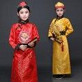El Príncipe Hanfu Chino Dinastía Qing Traje de Niño Vestido de Traje con Sombrero Bordado Dragón Chino Tradicional Traje 18