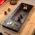 Бутиковый цветной чайный поднос из эбенового дерева кунг-фу чайный набор в китайском стиле чайный столик для гостиной ча хай аксессуары для...