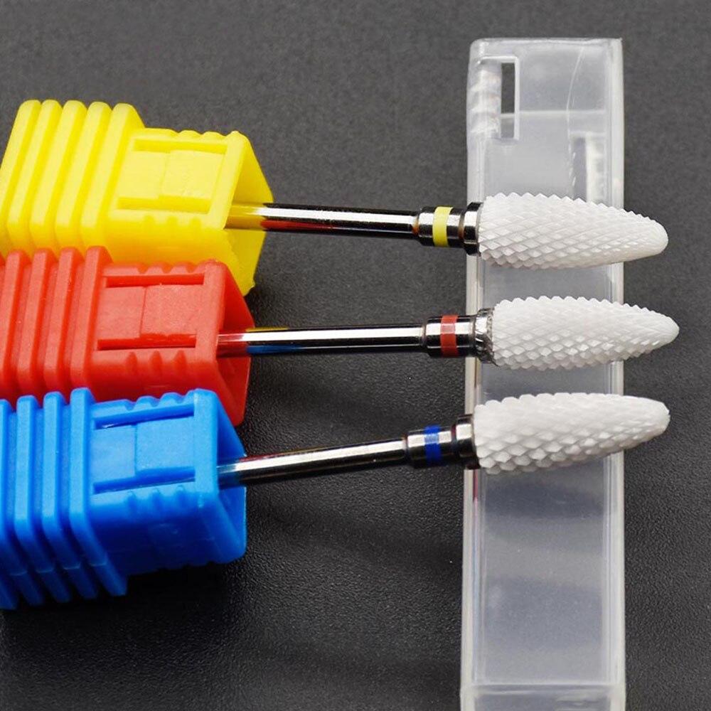 Timistory Керамика ногтей сверло электрический ногтей фреза для Маникюр Педикюр Nail Art аксессуары инструмент удалить лак для ногтей