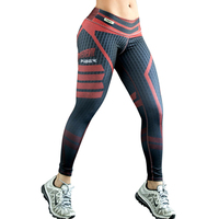 2017 New Fashion Plus Size Brand Sportes Leggings Women Summer Push Up Quick Dry Female Jeggings