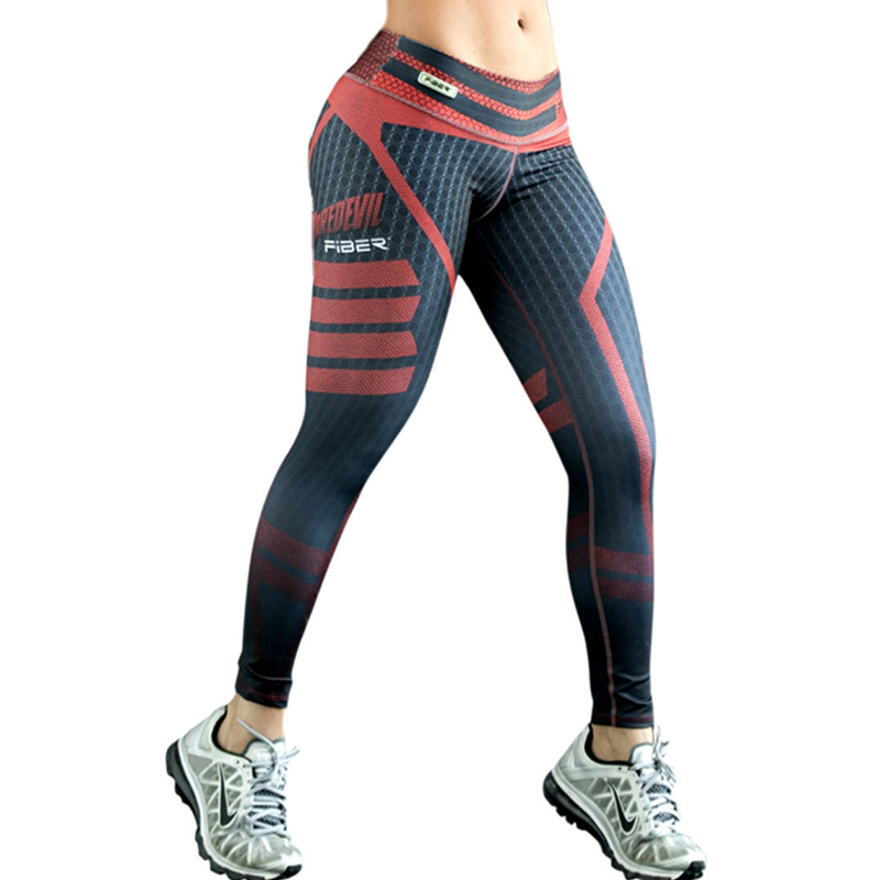 2017 New Fashion Plus Size Marca Sport Leggings Donna Estate Push Up Quick Dry Femminile Jeggings Calzas Deportivas Mujer Fitness