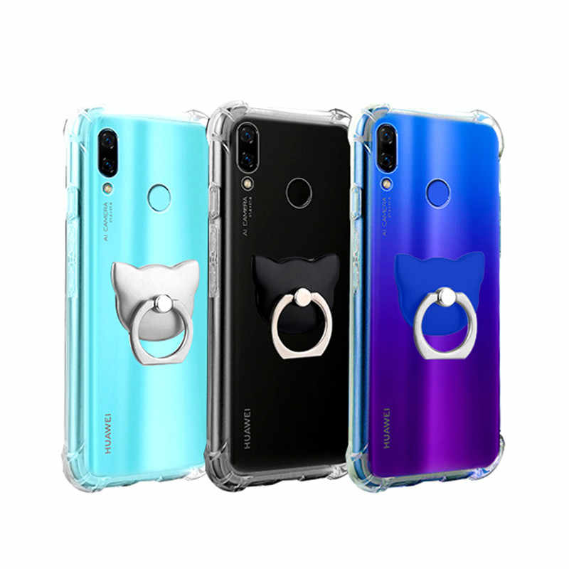 Shockproof Case For Huawei P8 P9 P10 P20 P30 Mate 10 20 Honor 7A 7C 8C 9i 10 Lite V20 2017 Nova 2 2i 3 3i 3e 4 Plus Soft Cover