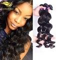 Быстрая Свободная Перевозка Груза необработанные Золото малайзии свободная волна девы волос человеческих волос weave 6а девы волос mix 3 шт./лот