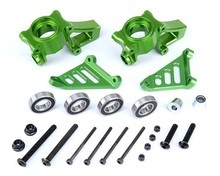 RC racing car parts, CNC alloy Front Wheel Hub and Steering Kits for 1:5 Baja