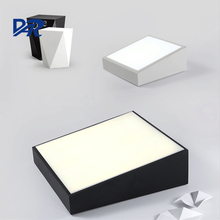 DAR Surface Mounted Modern Led Ceiling Lights Fixture Indoor Lighting Home Decorative Acrylic Lampshade Square Iron Ceiling Lamp