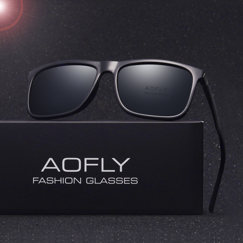 AOFLY Polarized sunglasses Male Sun Glasses for men Oculos