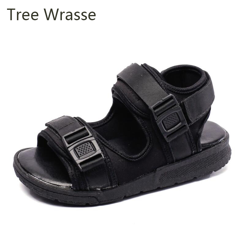 Childrens Small Shoes Girls Single Shoes 2019 Spring New Sets Of Feet Thick Bottom Non-slip Wild Boy Casual Shoes Tree Wrasse Mother & Kids Children's Shoes