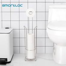 Smartloc S/S גדול שרותים Stand נייר מחזיק רקמות רול מתלה אחסון מיכל אמבטיה אביזרי מטבח ארגונית