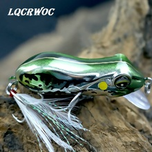Купить с кэшбэком 2019 NEW Frog lure 5.5cm 10g for fishing lures wobblers pesca isca artificial hard bait crankbait minnow trout River Stream bass