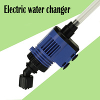 Aquarium Cleaner Battery Powered Foldable Fish Tank Electric Sand Washing Device Water Changer Pump Filter Aquarium Accessories