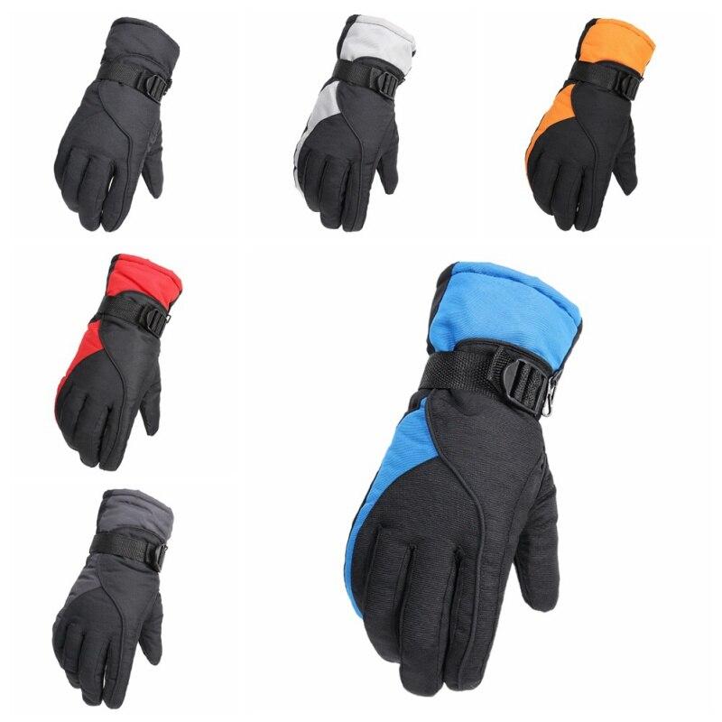 1 Paar Anti-slip Unisex Winter Warme Ski Handschuhe Winddicht Wasserdichte Ski Handschuhe Radfahren Schnee Handschuhe Outdoor Sport SpäTester Style-Online-Verkauf Von 2019 50%
