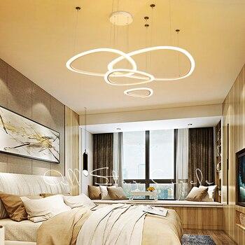 Omicron LED โคมไฟระย้าสีขาว Brown Creative Diy ห้องนั่งเล่นห้องนอนแขวนโคมไฟ Home โคมไฟระย้าที่ทันสมัย