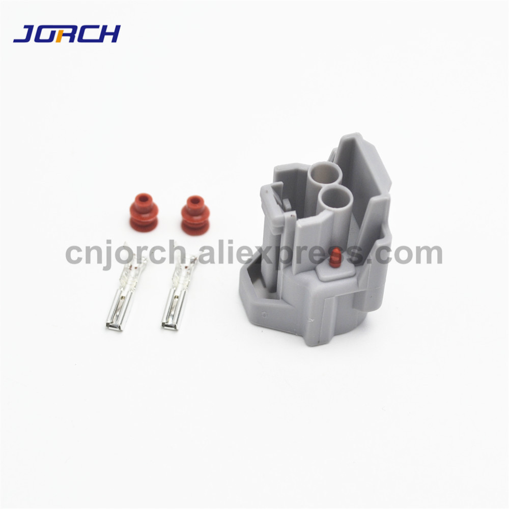10 sets kit  Denso in title EV1 US Car EV6 Female Fuel Injector Waterproof Connector Housing