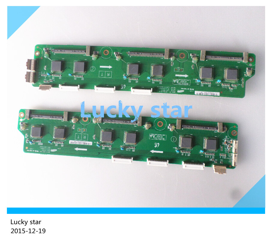 Здесь можно купить   A pair 95% new Buffer board LJ41-08418A + LJ92-01717A or LJ41-08417A + LJ92-01716A A SET OF YDRV 58FH-YB05 FOR PN58C550G1FXZA Бытовая техника