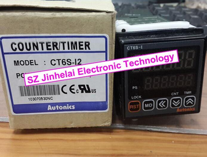 все цены на CT6S-I2 (CT6S-I)  New and original   AUTONICS   24VAC онлайн
