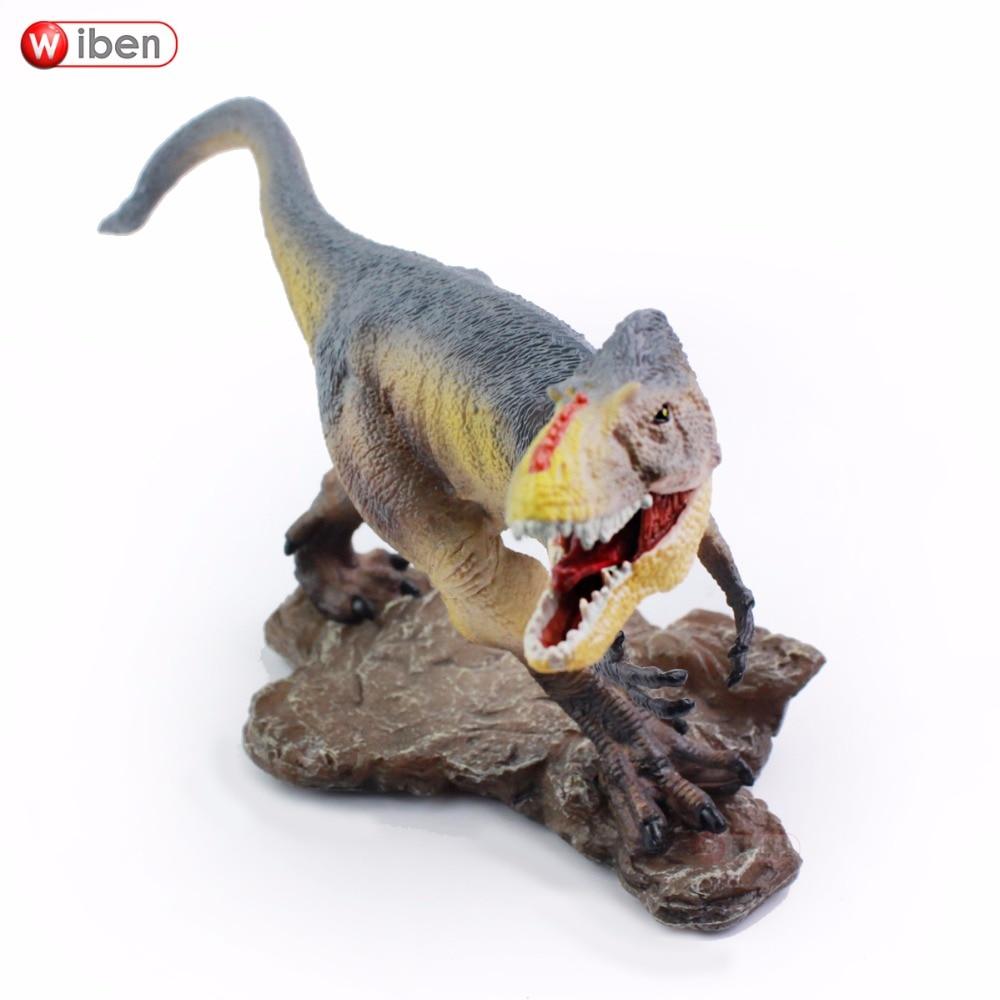 Wiben Jurassic Yutyrannus huali Dinozauru rotaļlieta Darbības attēls Dzīvnieku modeļa kolekcija Mācīšanās un izglītojošie bērni Ziemassvētku dāvana